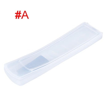 Useful Silicone TV Remote Control Cover Air Condition Control Case Waterproof Dust Protective Storage Bag Organizer