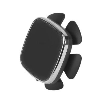 USTORE Universal Car Car Steering Wheel Mobile Phone Magnetic Holder Bracket Silver-Intl