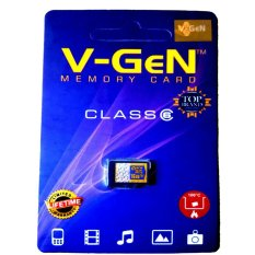 V-Gen Micro SD 16GB Class 6 Memory Card - 16 GB