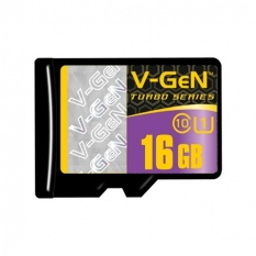 V-Gen Micro SD 16GB Turbo Class 10 Memory Card Non adaptor