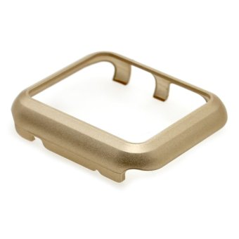 Vanker Ultra thin Slim Screen Protection Case Cover Skin For AppleWatch iWatch 42mm (Gold) - 4