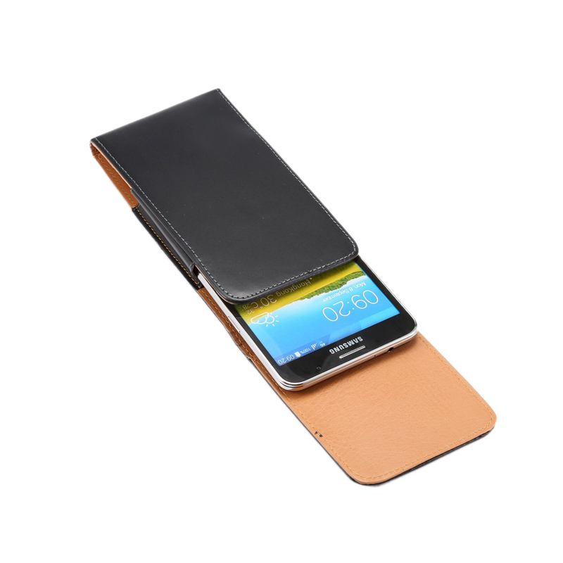 Vertical Style Leather Case Flip Cover Wallet Belt-flip Phone BagPackage For Samsung Galaxy Mega