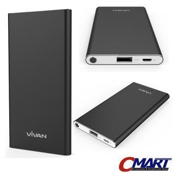 Vivan PowerBank B5 5200 mAh Original Power Bank 5200mAh - BLACK