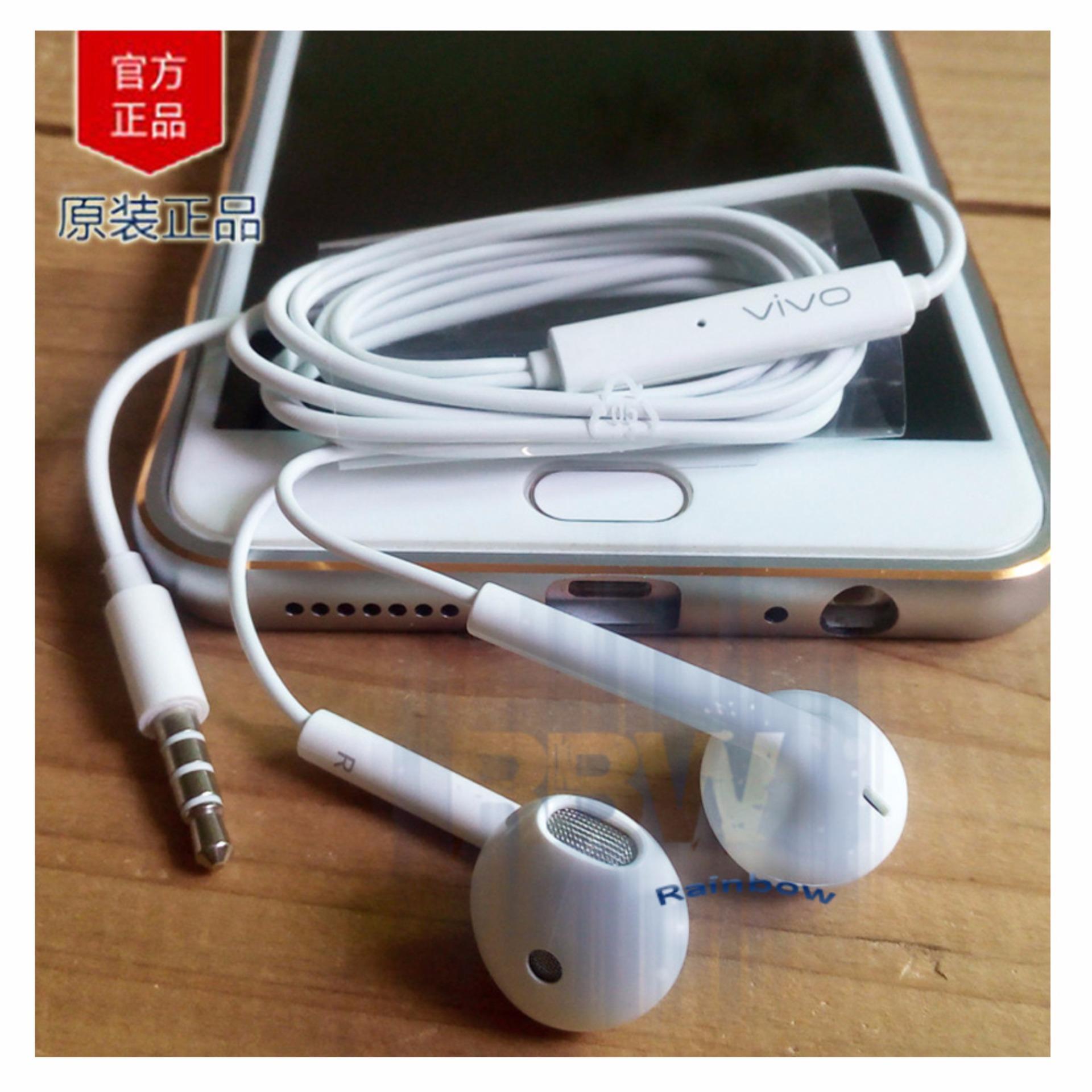Daftar Harga Vivo Handsfree V5 Xe680 Original Headset All Smartphone Portjack 35mm Earphone