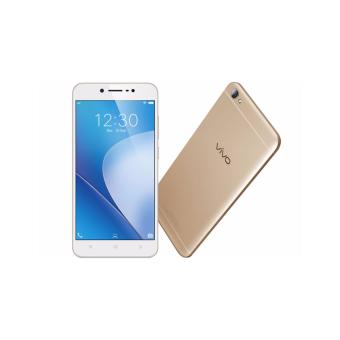 VIVO V5 LITE - 32GB - GOLD + TEMPER GLASS + SILICON