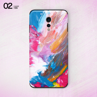 Vivo xplay6/xplay6 stiker warna backing film ponsel film pelindung