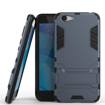 Vivo Y53 Case Slim Lightweight 2in1 Y53 Cases Hybrid with Soft Rugged TPU Inner Skin and Hard PC Anti Scratches Protective Cover for VIVO Y53 - intl