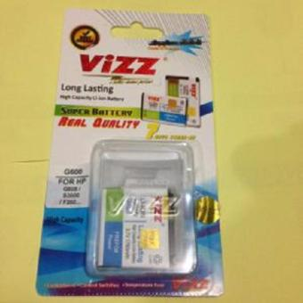 Vizz Baterai Batt Batre Battery Double Power Vizz Samsung G600 G608 S3600 F260 Baru 1760 Mah