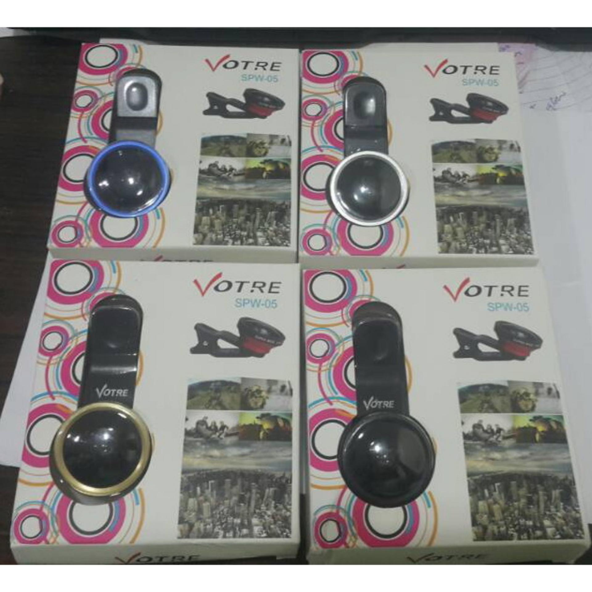 Votre SPW-05 Clip Lens Superwide Fish Eye Lensa Handphone ...