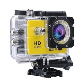 VVGCAM SJ4000 Sports Camera WiFi with remote control 1.5inch LCD HD 1080P Waterproof Action Camera (Yellow) - intl