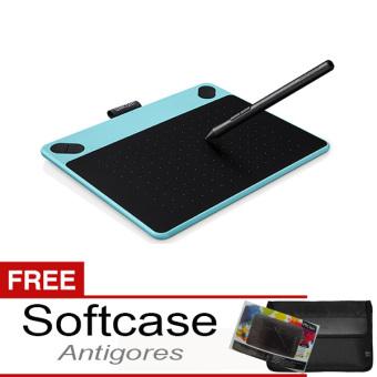 harga Wacom Intuos Comic CTH490 Pen Tablet - Mint Blue + Gratis Softcase + Antigores Lazada.co.id