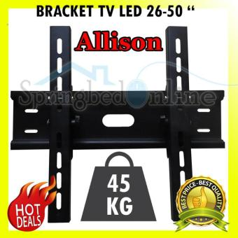 Wall Mount Bracket TV LED LCD 26 Sampai 50 Inch Braket Tebal Dan Kuat