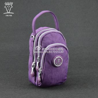 wanita bahu Messenger tas tangan kanvas kain tas wanita