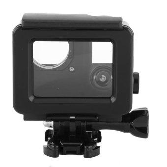 Waterproof ABS Housing Protective Case With Touchable Backdoor ForGopro Hero 4/3+ Camera(Black) - intl
