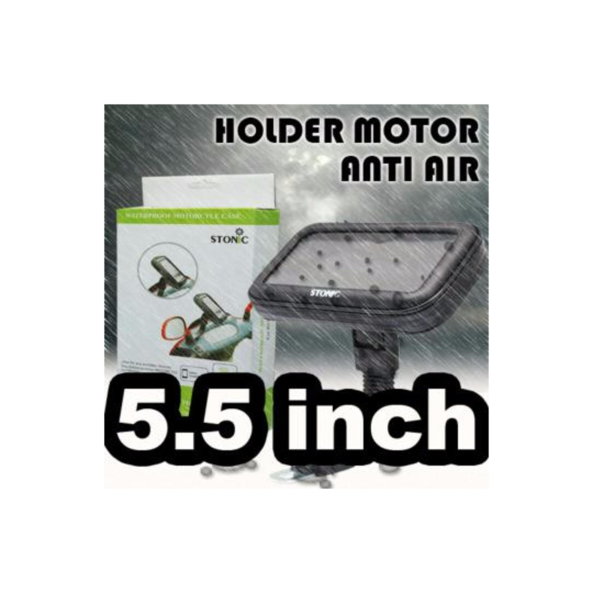 ... Waterproof Motorcycle Case Stonic. Holder Spion Sepeda MotorWarerproof Bracket HP GPS Anti Air ...