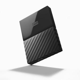 WD My Passport New Design 4TB/2.5Inch/USB3.0 - Hitam + Free Pouch + Pen - 3