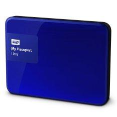WD Passport Ultra 3TB - Premium Storage HDD / HD / Hardisk / Harddrive - Biru