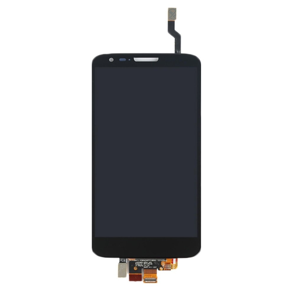 White black LCD display Touch screen digitizer full assemblyreplacement part For LG Optimus .
