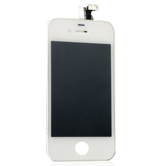 White Touch Screen Digitizer LCD Display Assembly Fit For iPhone 4 4G- - intl