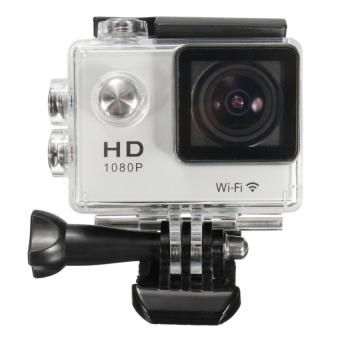 Wifi 1080P SJ5000 Sport Camera (Silver) - intl