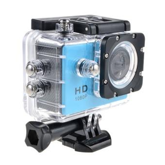 Winliner ACC-B-18 Waterproof Sport Action Camera (Blue) - intl