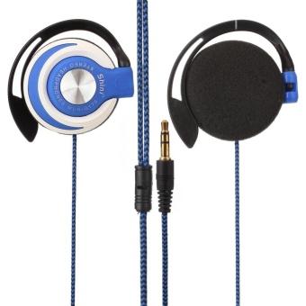 Detail Gambar Wired Headset Clip On Ear Sport Headphones EarHook Earphone For Mp3Computer - intl Terbaru