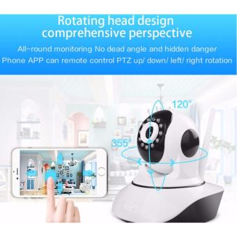 Harga Wireless CCTV IP Camera WiFi P2P HD 720p Memory Card / Kamera Pengawas