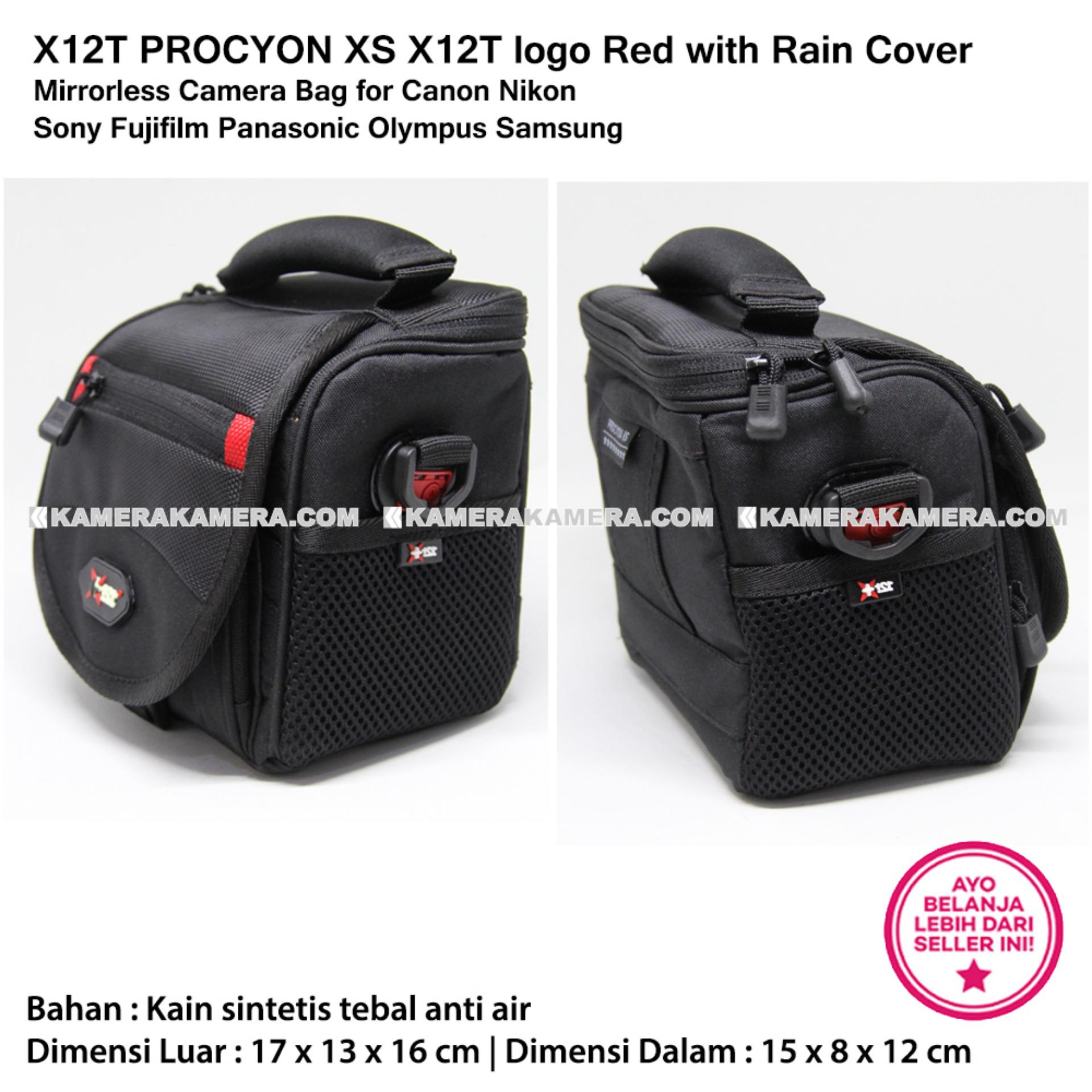 X12t Procyon S Aw Logo Red With Rain Cover Mirrorless Camera Sdv Mr 502c Bag Xs For
