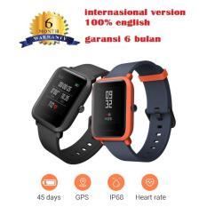 Xiaomi Amazfit Smart Watch Bip BIT PACE Waterproof GPS Compass English Version - Hitam