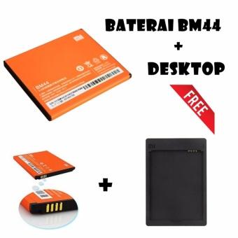 Xiaomi Baterai BM44 2200mAh + FREE Desktop Charge for Redmi 2