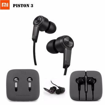 Terbaik Murah Xiaomi Handfsree Piston 3rd Gen Generation Original - Hitam Perbandingan harga