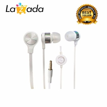 Xiaomi headset/handsfree Hi Fi music for android stereo handsfree - putih