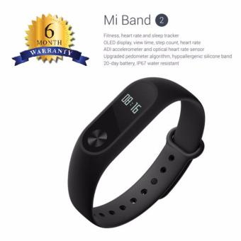 Harga Xiaomi Mi Band 2 OLED Display - BLACK