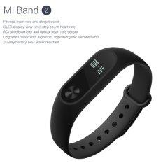 Xiaomi Mi Band 2 OLED Display Smart Watch - BLACK