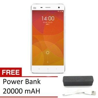 Update Harga Xiaomi Mi4 4g – 16gb – White + Gratis Power Bank 20000mah IDR3,965,000.00  di Lazada ID
