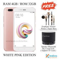 Xiaomi Mi5x - Ram 4GB - Rom 32GB - 4G - Fingerprint - White Pink