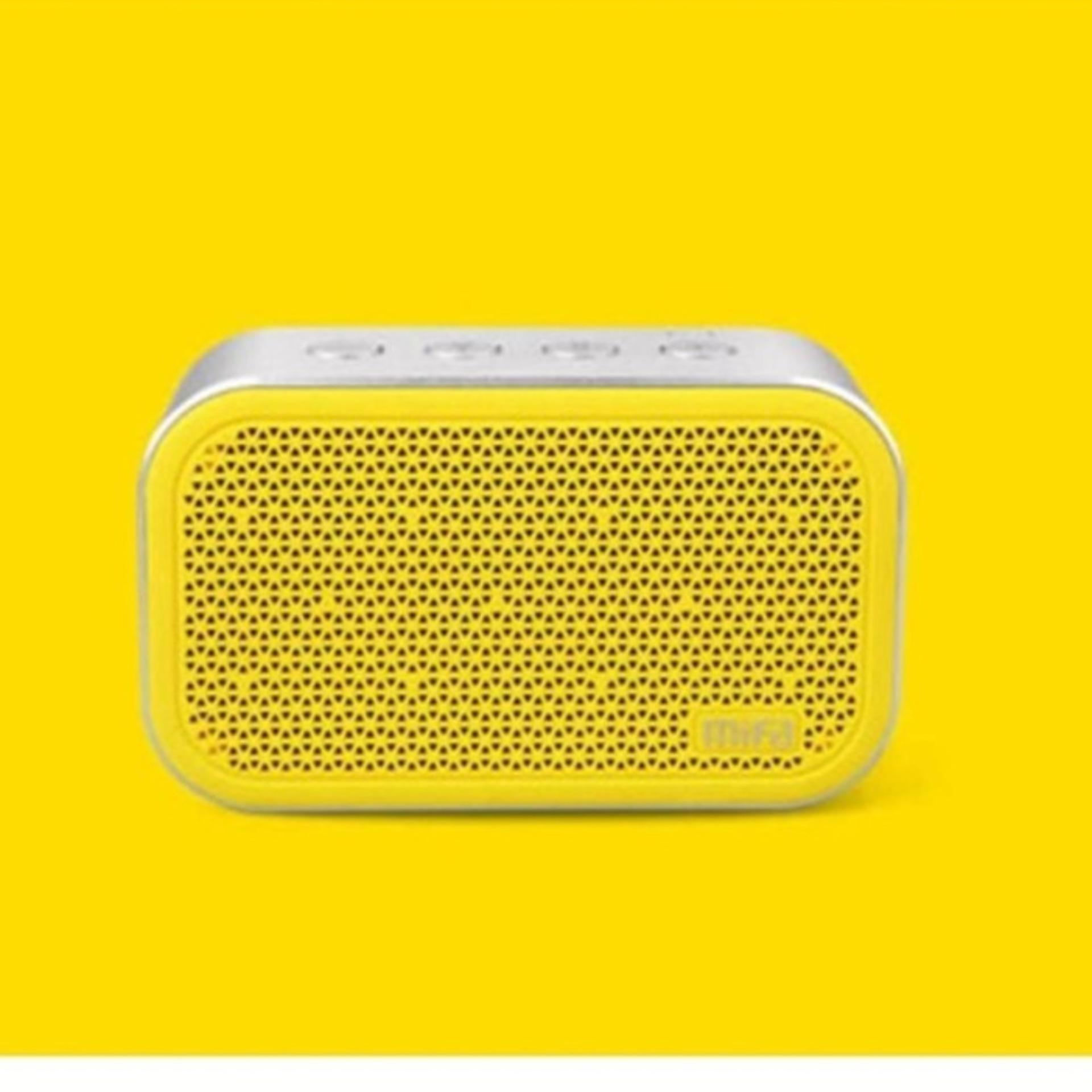 Flash Sale Xiaomi Mifa M1 Bluetooh Portable Speaker Cube With Bluetooth Microsd Slot New Version Kuning