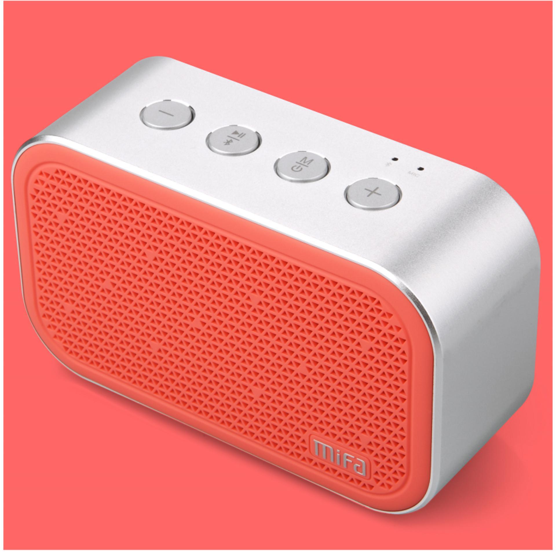 Pelacakan Harga Xiaomi Mifa M1 Bluetooth Portable Speaker Cube With Micro Sd Pink