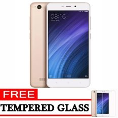 Xiaomi Redmi 4A - 16GB - Gold - ( Ready Bhs Indonesia & 4G LTE + Free Tempered Glass