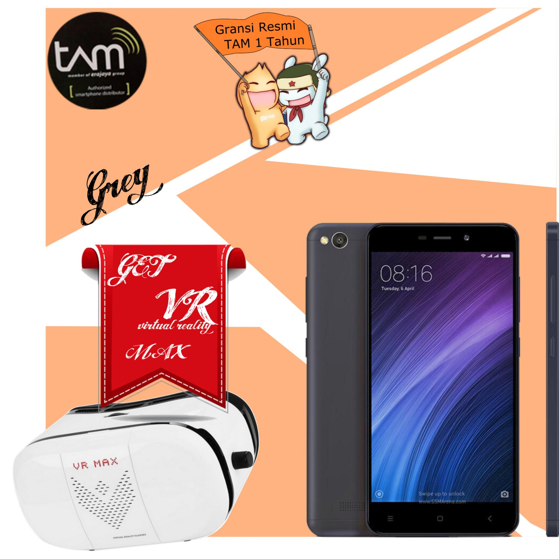 Anggaran Terbaik Xiaomi Redmi 4a 2gb 32gb 4g Lte Grey Garansi 4x Prime Resmi Tam 1 Tahun
