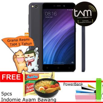 Xiaomi Redmi 4A - 32GB, 2GB Ram - Grey Garansi Resmi TAM Free + bonus