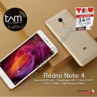 Xiaomi Redmi Note 4 3/32 Snapdargon Garansi Resmi TAM