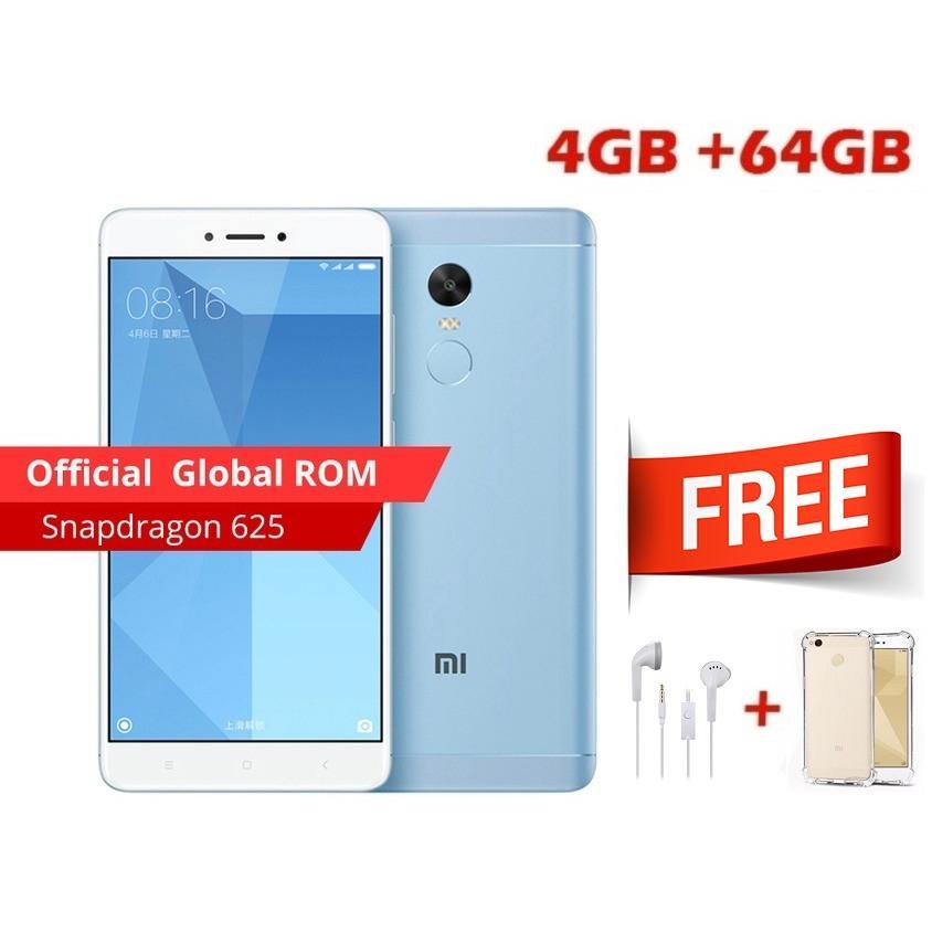 Xiaomi Redmi Note 4X 4GB/64Gb Snapdragon - Blue Edition GRS Distributor 1 Tahun