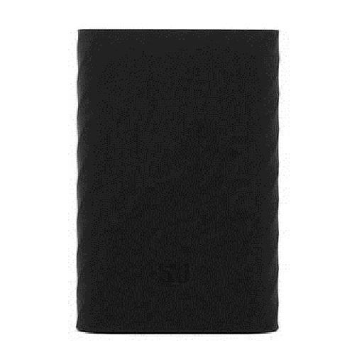 Xiaomi Silicone Case Powerbank 10000 mAh - Hitam