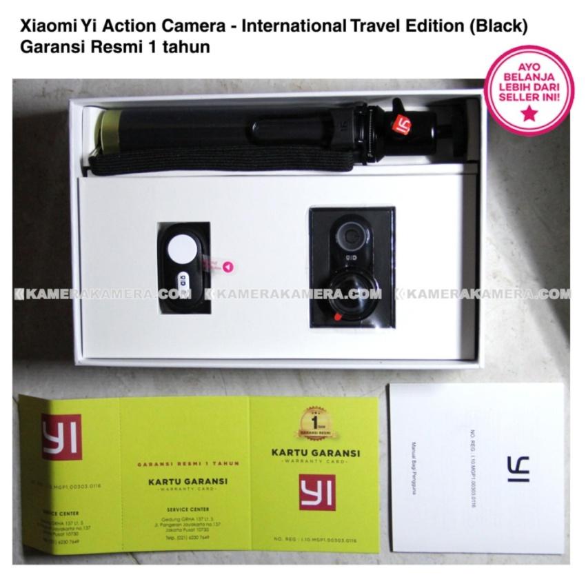 Monopod Xiaomi Yi Action Camera International Travel Edition Black Camera Bluetooth Shutter Monopod .