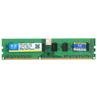 XIEDE Pr AMD 4 G GO GB DDR3 PC3-128001600MHz Desktop PC DIMM MA(