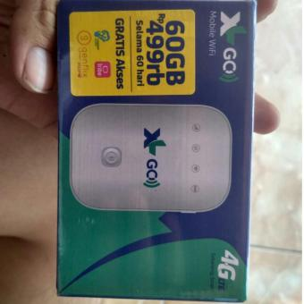 XL GO, MOBILE WIFI Movimax MV003 Modem 4G MiFi Bundling XL Go 60GB/2Bulan