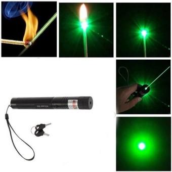 Yaahowu Terlaris Green Laser Pointer Rechargeable / Senter Laser Hijau Alat Bantu Presentasi Multifungsi