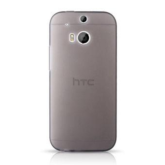 Yang baru untuk ponsel ramping TPU sampul HTC One M8 M8s M 8 xkasus silikon HP belakang cangkang kulit pelindung yang tahan lamasangat sesuai kasus (Hitam)