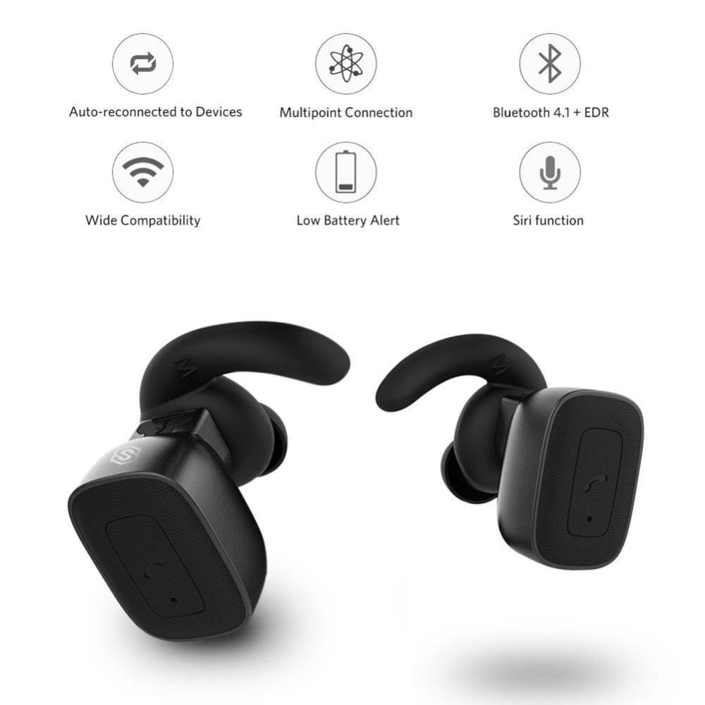 Harga Baru Ybc Bluetooth Headphone Earbud Dengan Mic Hands Free Qcy Q26 V41 Headset Wireless Earphone Putih Panggilan Untuk Iphone Android